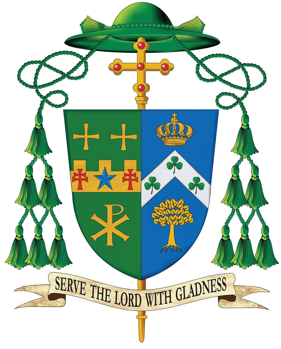 Bishop Malesic Coat of Arms