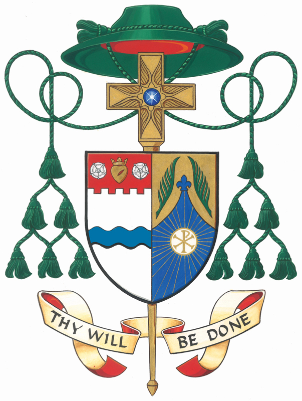 Bishop Stephen Berg coat of arms